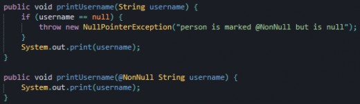 These two methods are equivalent, but one is much cleaner.