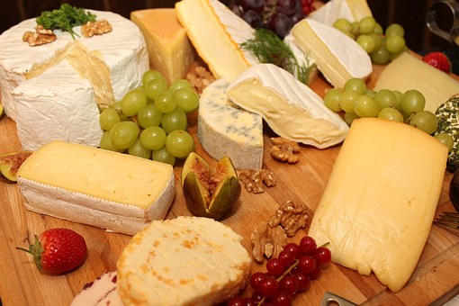 Avoid high fat cheeses and cream to help lower blood pressure.