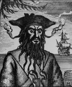 Black Flags & Black Hearts: The Truth About the Caribbean Pirates