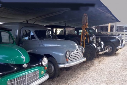 A selection of Mwalimu Nyerere's vehicles at the Dar-es-salaam Museum