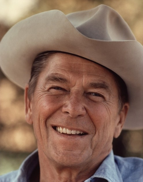 The Late President Ronald Reagan