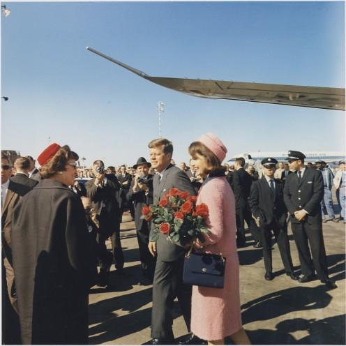 President and Mrs. John Fitzgerald Kennedy
