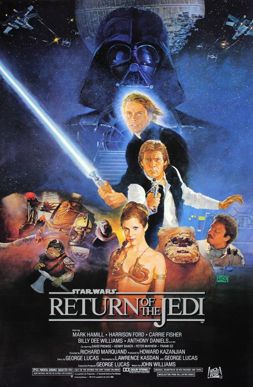 Star Wars: Episode VI: Return of the Jedi.