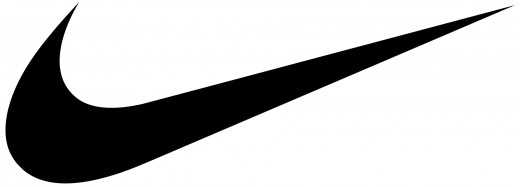 Nike's iconic tick graphic.