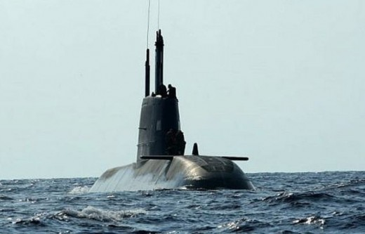An Israeli sub in the area