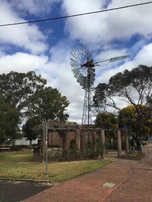 Windmill, Mitchell, QLD, Australia