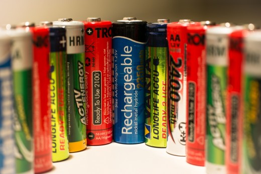 Various Types of Batteries