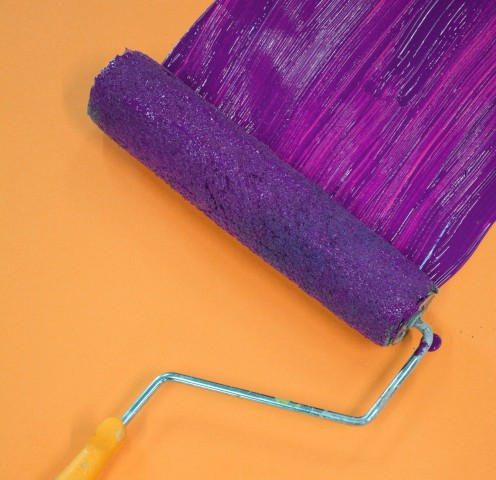 By roller or paint brush, Frog Tape can add to your successful painting task.