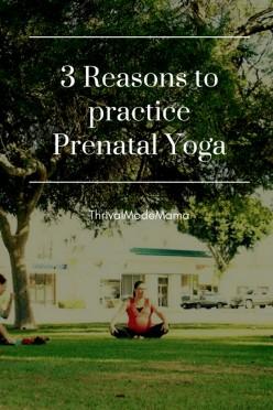 3 Reasons To Practice Prenatal Yoga