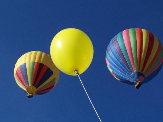 Hot air balloon rides in Breckenridge, Colorado