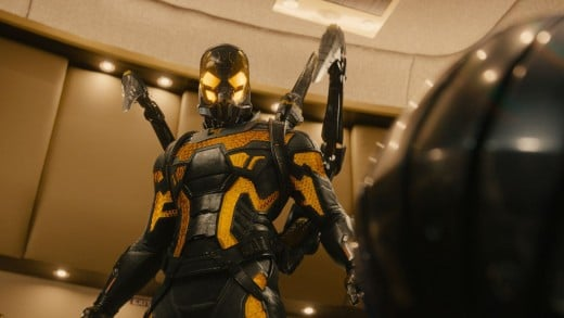 Yellowjacket, the enemy of Ant-Man.