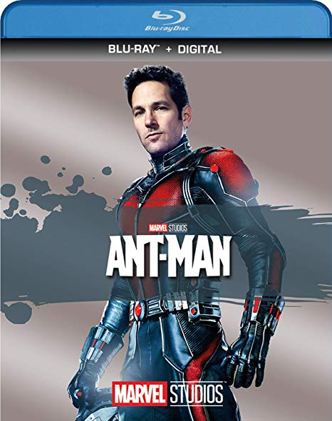 Ant-Man blu-ray cover.
