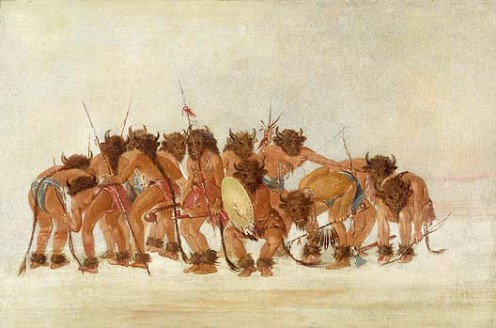 Mandan Buffalo Dance.