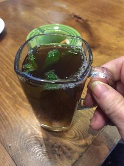 Mint Tea in Tunisia
