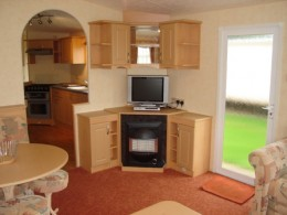 Self catering caravan at Butlins Skegness