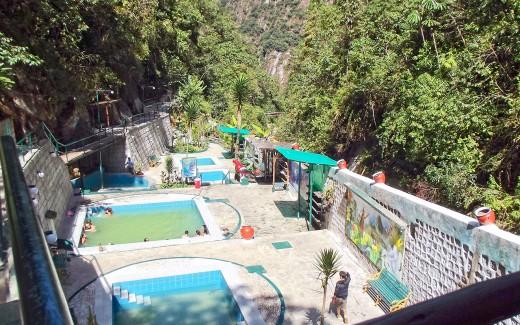 The thermal baths of Machu Picchu village