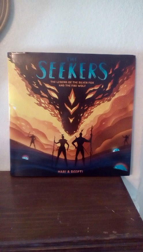 Gorgeous picture book for ages 4-8  Mythology and legend teach a life lesson