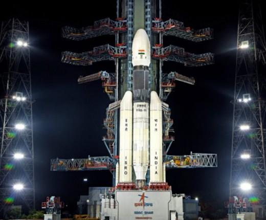 The Indian indegenous GSLV Mk-III - Source: ISRO