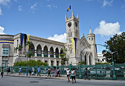 Barbados Parliament Building is one of the many walking around attraction in Bridgetown.