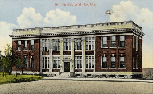 Galt Hospital 1910. Now Galt Museum