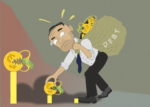 Too Much Debt is a Burden! Don't add to it!