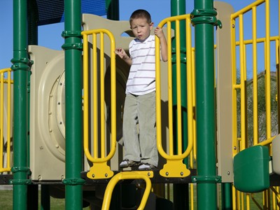 Children who play outside for a period of time each day generally are not as likely to become obese.
