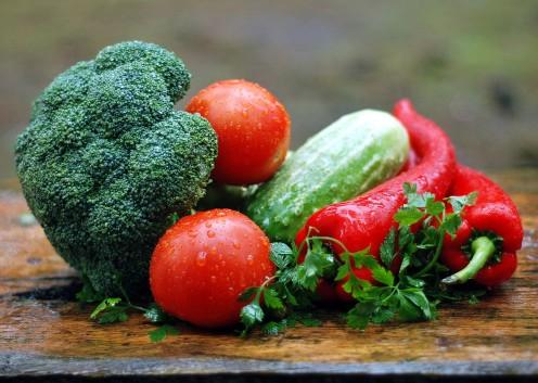 Organic Fresh Garden Vegetables