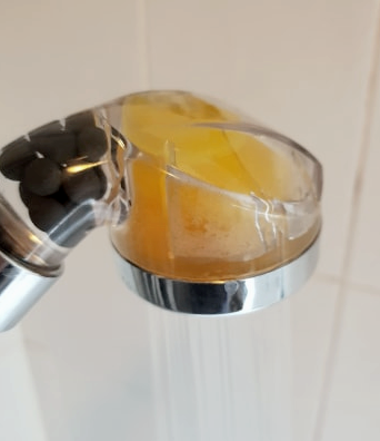 Water passes through all the filters when in use, and is concentrated as it passes through the shower head to give a refreshing and efficient showering experience.