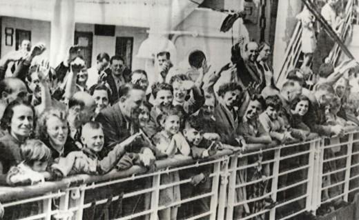 Hopeful refugees, later refused