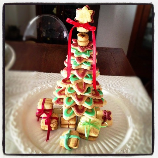 Edible Christmas tree image from Morguefile.com.