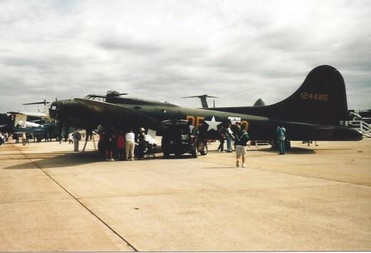 B-17 at Andrews AFB.