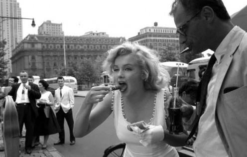 Marilyn Monroe in New York (1957)