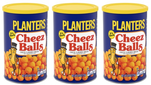 In 1989, Planters Cheez Balls were one of the most popular foods in America.