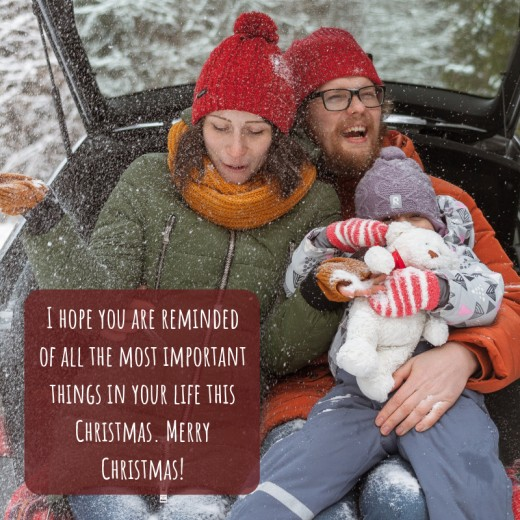 Christmas cards are a great way to let long-distance loved-ones know you care!