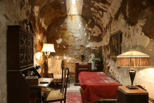Al Capone's cell.