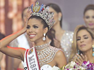 A dream come true as beauty queen from slums is crowned Miss Venezuela