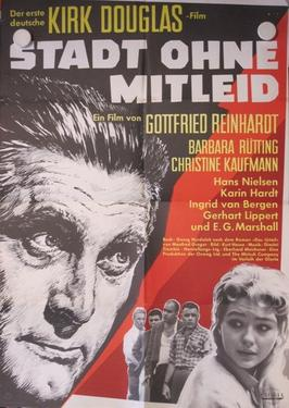 Town Without Pity, German Film Poster
