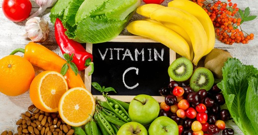 Certain fruits and vegetables are packed with Vitamin C.