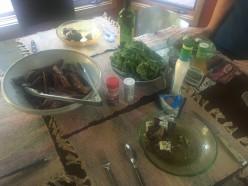 Pan Seared Steak with an Estatz Madeira Sauce and Blue Cheese Recipe