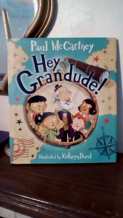 Grandpa, Magic, and Tons of Adventures With a Compass in Paul McCartney's Debut Picture Book
