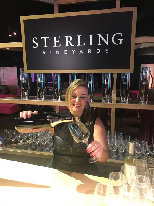 Sterling Vineyards is the official wine poured at the 2019 Governors Ball.