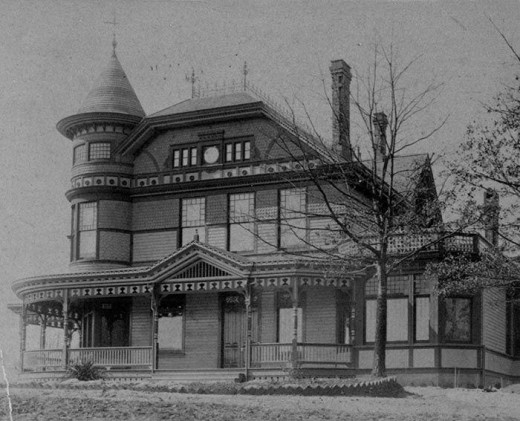 The Victoria in it's early days