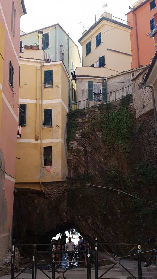 Mainstreet of Vernazza
