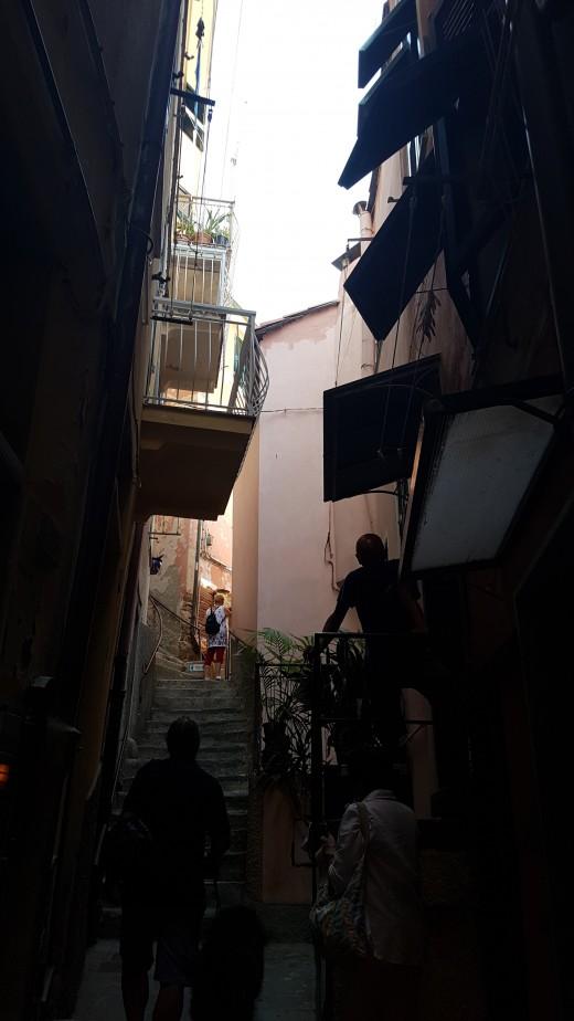 Ligurian houses in Vernazza