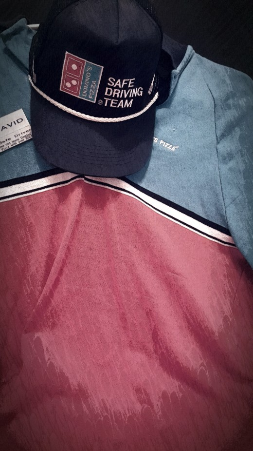 Domino's Pizza Uniform 1990's