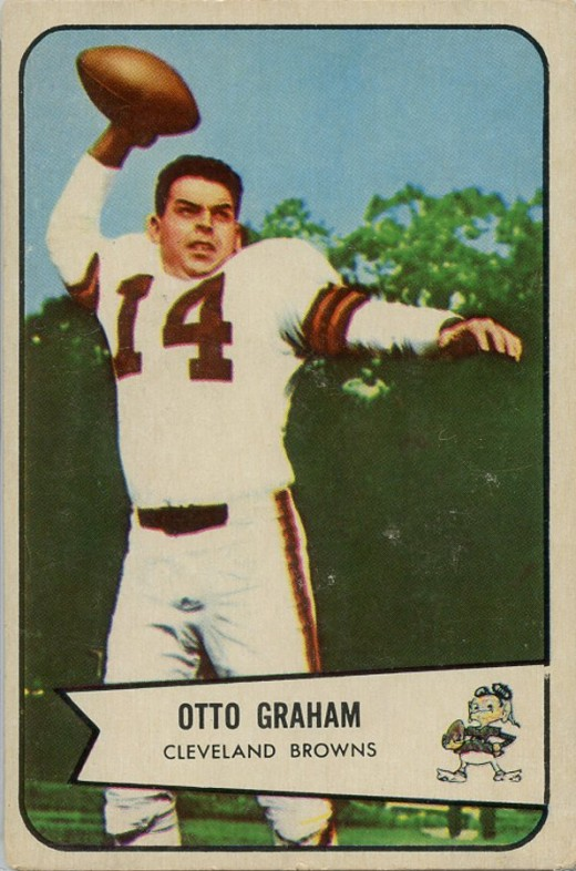 Otto Graham was the first official quarterback of the Cleveland Browns.