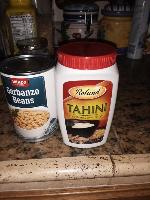 Tahini and Garbanzo Beans