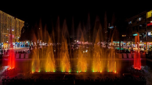 Musical Fountain, Sector 17, Chandigarh