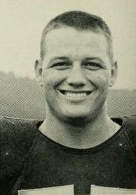 Sam Huff, West Virginia University yearbook, 1955