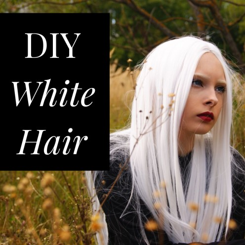 DIY Hair: How to Get White Hair at Home
